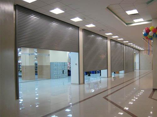 Изготовление ворот для торговых центров