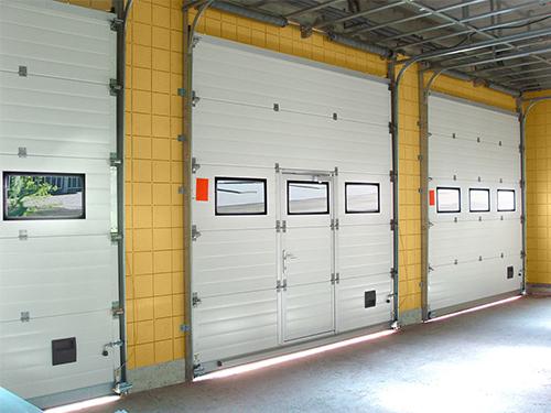 Ремонт складских ворот