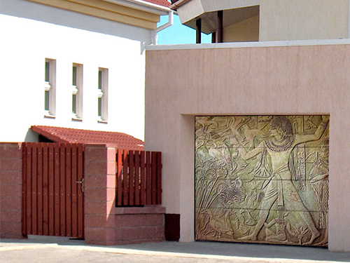 Элитные гаражные ворота