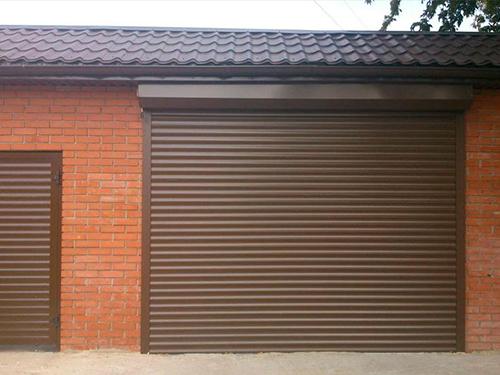 Изготовление гаражных рулонных ворот