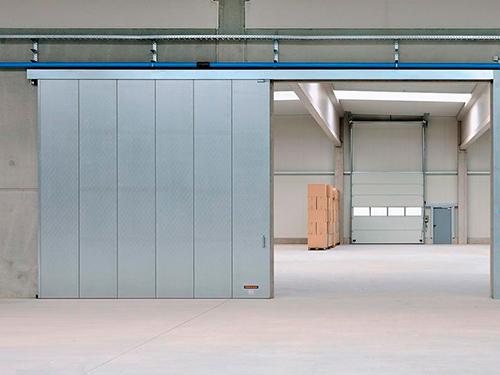 Изготовление промышленных подвесных ворот