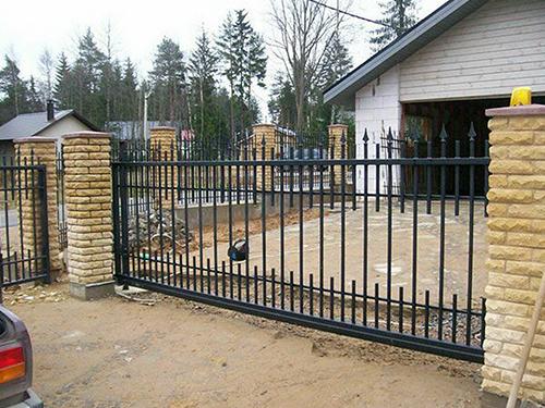 Изготовление сварных откатных ворот