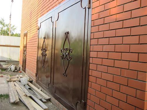 Изготовление гаражных сварных ворот