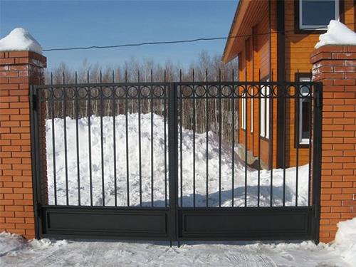 Изготовление сварных распашных ворот