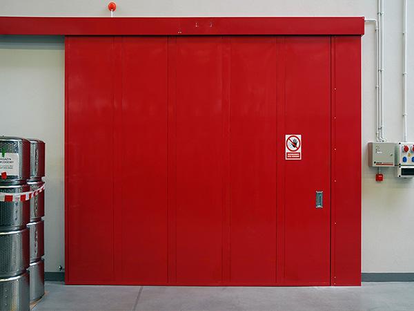 Противопожарные ворота Hormann