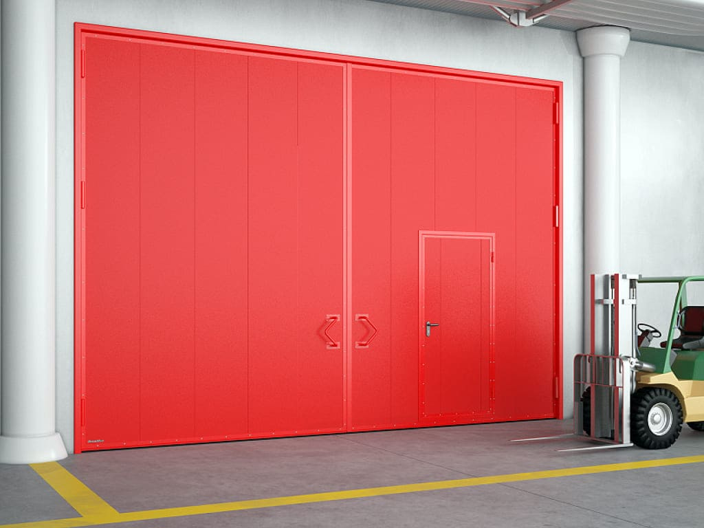 Противопожарные распашные ворота Doorhan